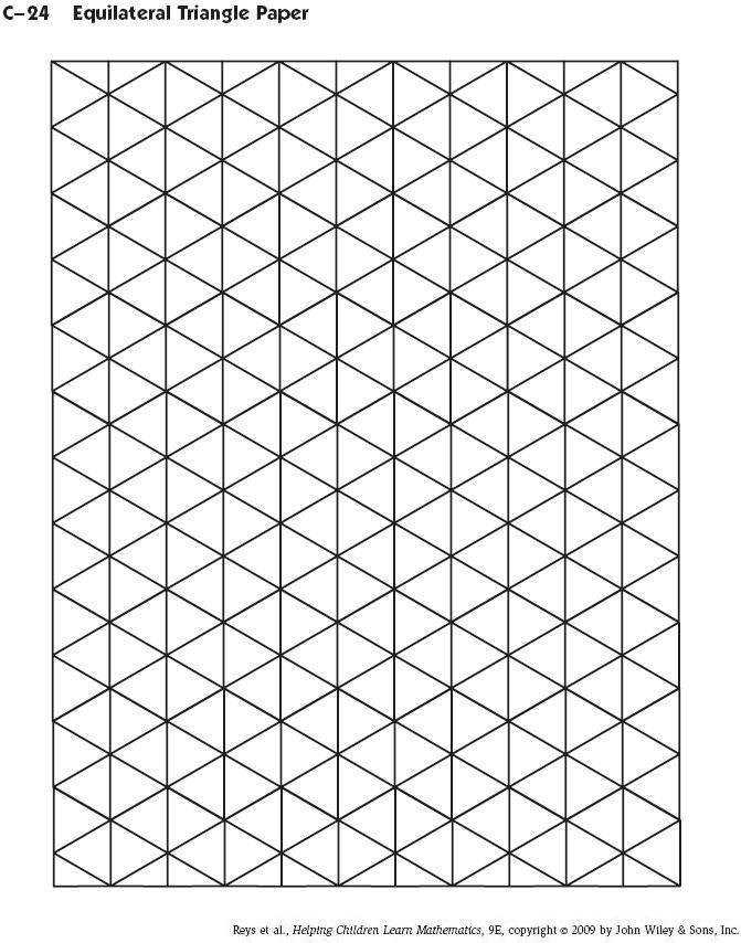 triangle paper - Klisethegreaterchurch