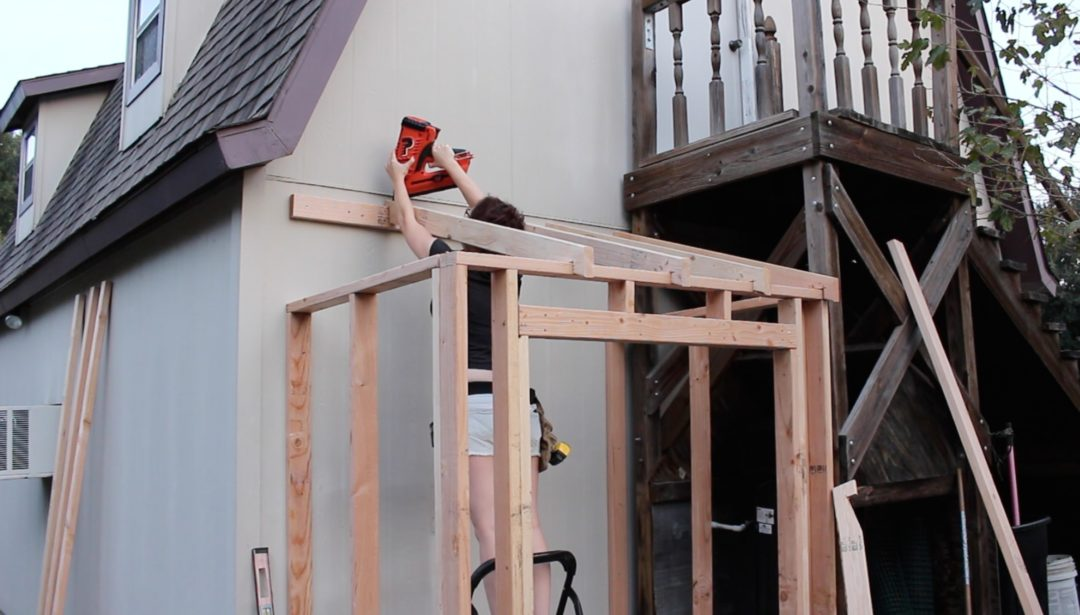 Building A Lean To Shed Framing And Siding Wilker Do39s