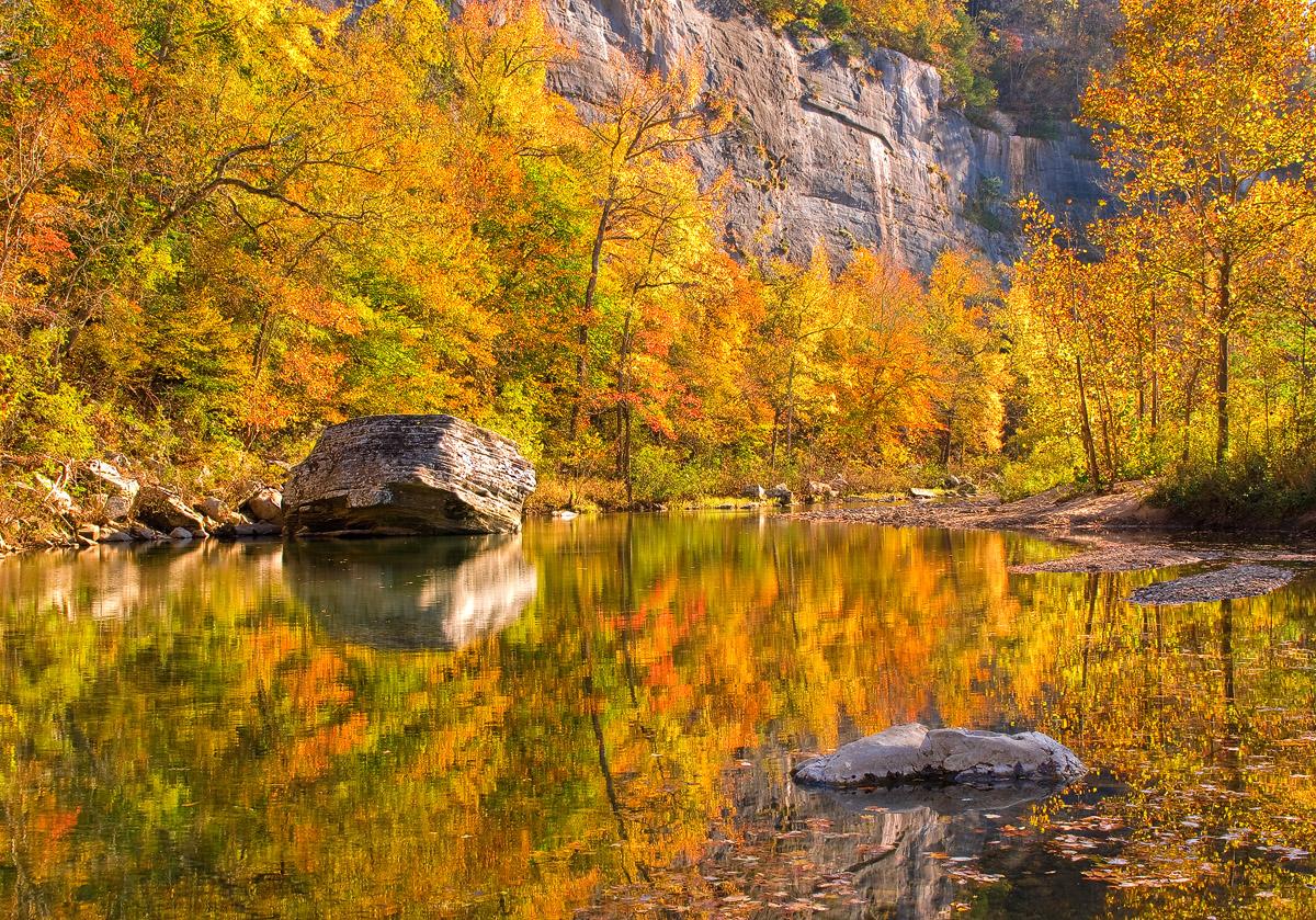Fall Season Desktop Wallpaper Fall Reflections 169 2008 William Dark Buffalo National
