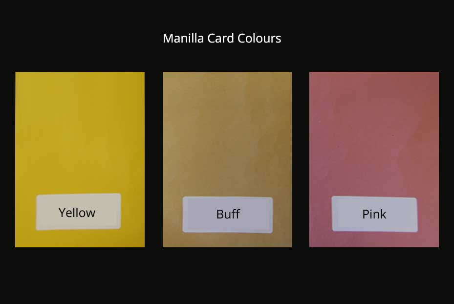 Buy Manilla Card  Pattern Papers online at williamgeeuk - sample cards