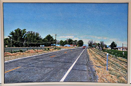 Lloyd Brown Hinckley, Utah US Highway 50 William Havu Gallery