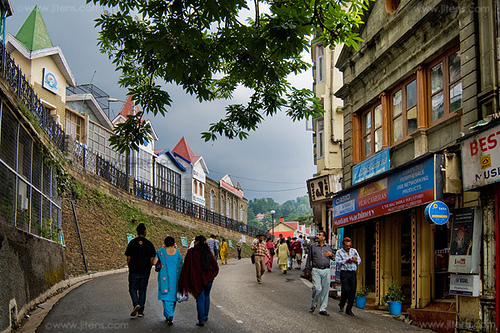 The Mall Road Shimla - Top things to do in Shimla