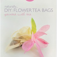 DIY: Flower Tea Bags