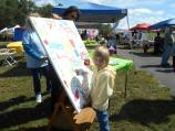 AITP children's group painting