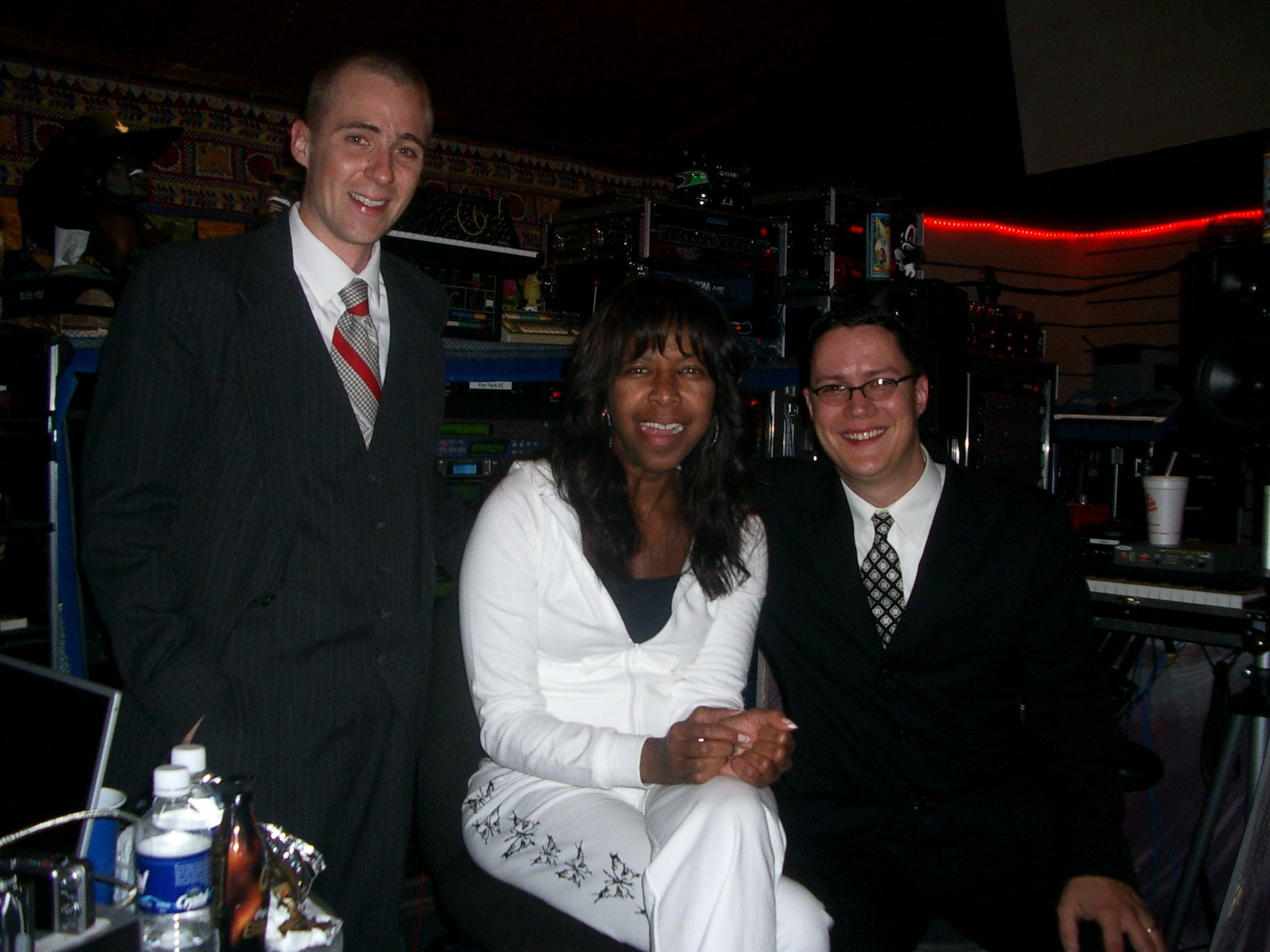 Recording Session with Natalie Cole