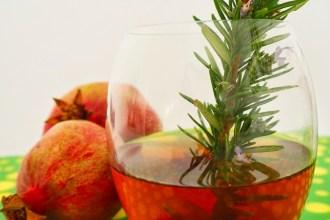 Pomegranate Iced Tea Gin Cocktail Recipe