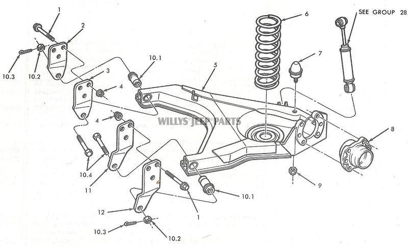 jeep suspension parts