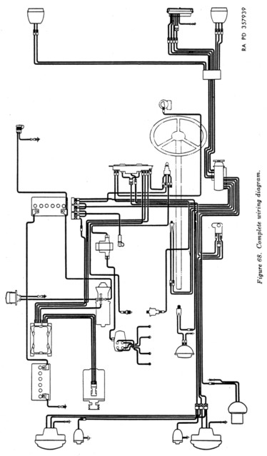 1951 willys wagon wiring diagram