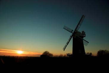 Sunset at Wilton Windmill - Image courtesy of David White