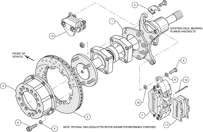 drum brake schematic diagram