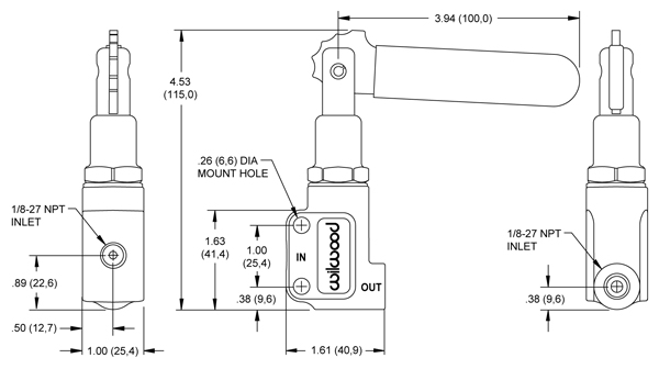 WIRING DIAGRAM FOR BRAKE PROPORTIONING VALVE - Auto Electrical