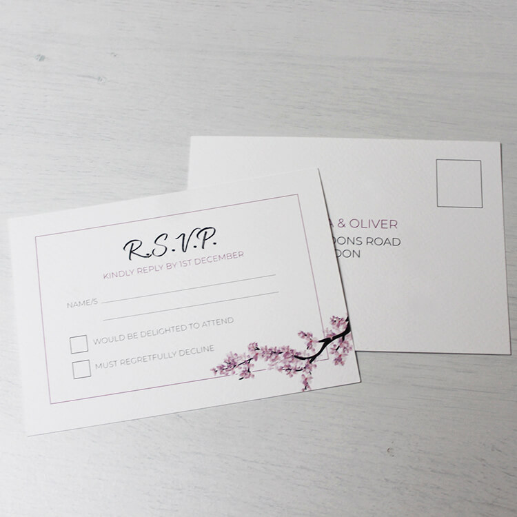 RSVP Cards - Wimbledon Business Studio