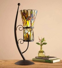 Stained Glass Vase-Style Table Lamp | Top-Rated For The ...