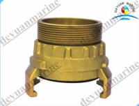 Brass French Type Fire Fighting Equipment Fire Hose ...
