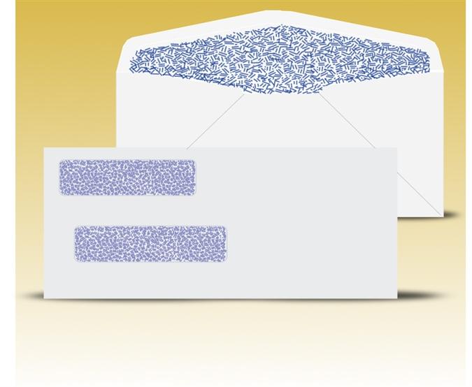 Double Window Envelope Template PDFs - Windowenvelopes