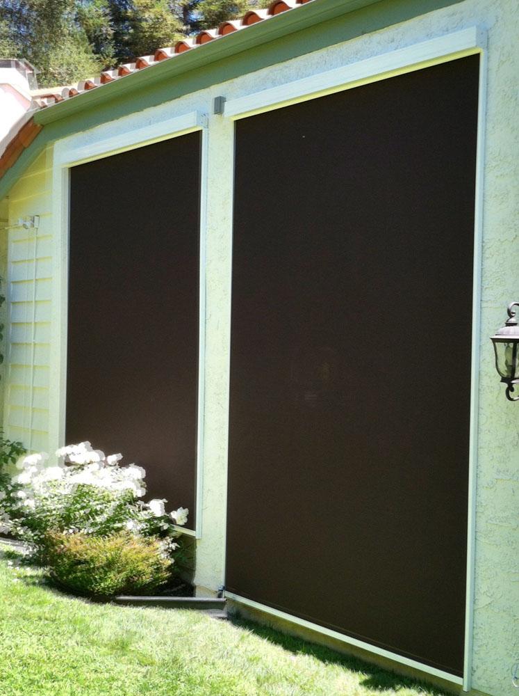 Mieth elite motorized exterior shades1 window products - Motorized exterior window shades ...