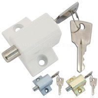 Sliding Patio Door or Window Lock Security Locking Push