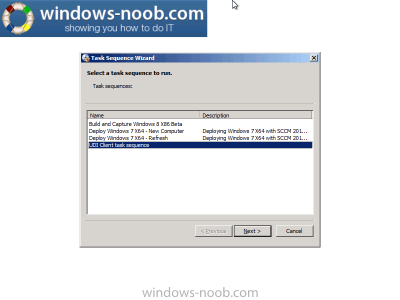 using SCCM 2012 RC in a LAB – Part 18. Deploying a UDI Client Task Sequence with MDT 2012 RC1 ...