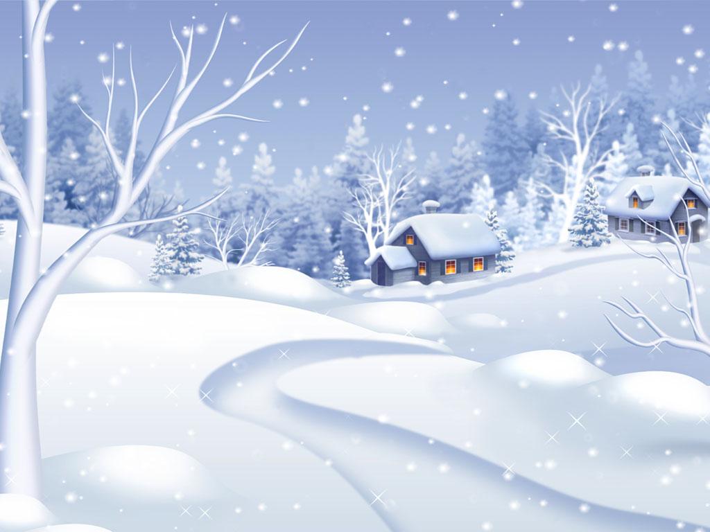 Falling Water House Wallpaper Windows 10 Snowfall Screensaver