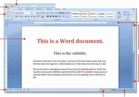Using Microsoft Word - Windows 7 Basics - Windows 7 Help - microsoft word