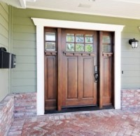 How Do You Stain a Front Door?