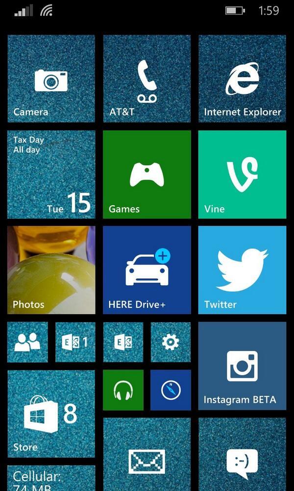 Beautiful Windows Phone Start Screens