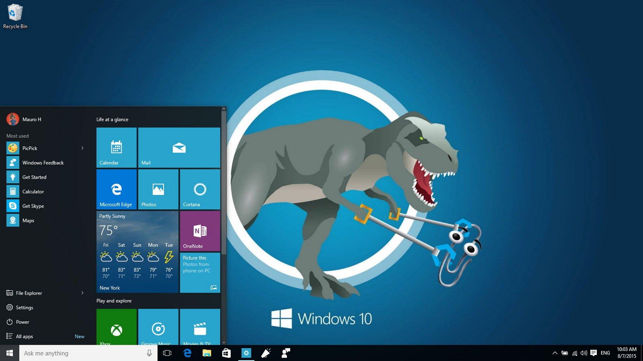 Windows As Desktop Background