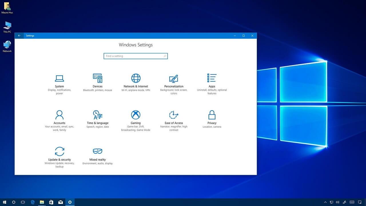 Dual Screen Wallpaper Fall Download Windows 10 April 2018 Update Iso Images