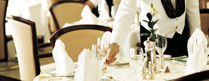 Jobs on Cruise Ships Assistant Waiter