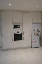 Built in kitchen storage