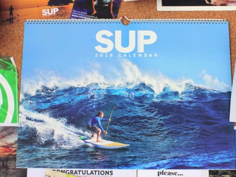 2016 SUP INTERNATIONAL CALENDAR – ON SALE NOW!