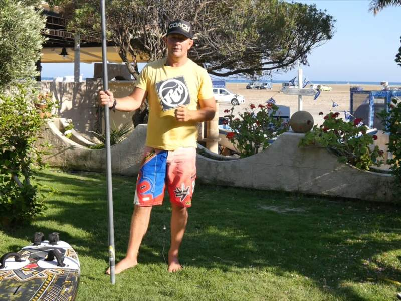 WINDSURFING CARVE GYBE #11 WITH JEM HALL