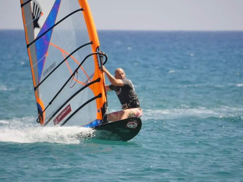 JEM HALL WINDSURFING TACKING TIPS