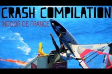 WINDSURF CRASH FAIL COMPILATION | INDOOR DE FRANCE