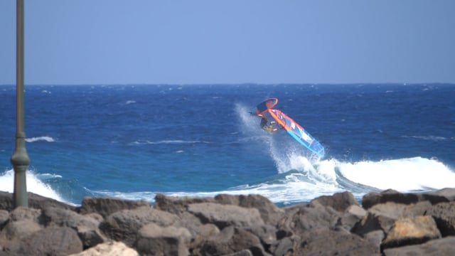 RICK JENDRUSCH IN LANZAROTE FREESTYLE 2017