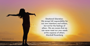 emotional liberation