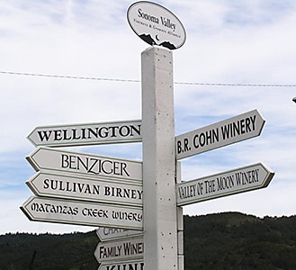 Sonoma Valley Wine Route
