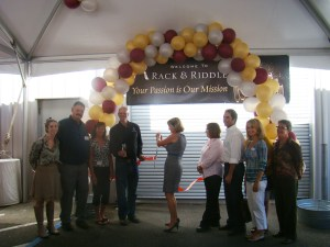 Rack & Riddle ribbon cutting