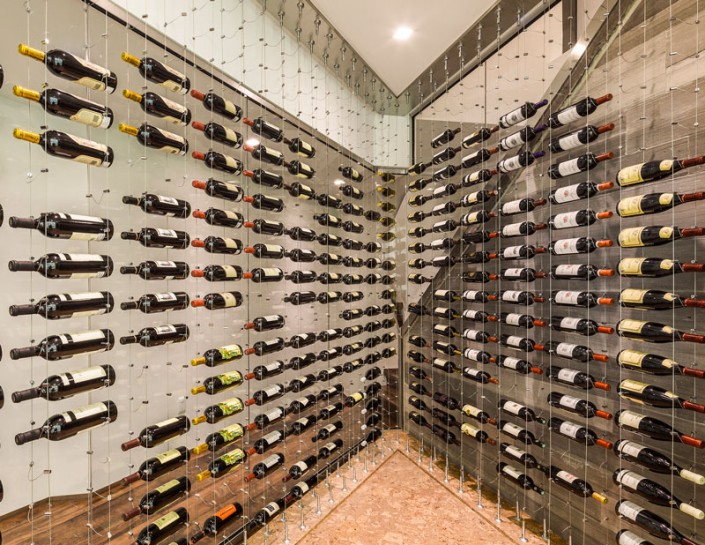 Cable Racking Wines Cellar