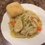 My Momma's Crock Pot Chicken and Noodles