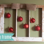 Holiday Barn Window Decor