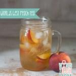 Refreshing Peach Ice Tea