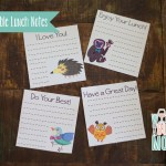 Lunch Box Notecards Printable