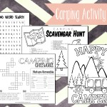 Free Printable Camping Activity Book
