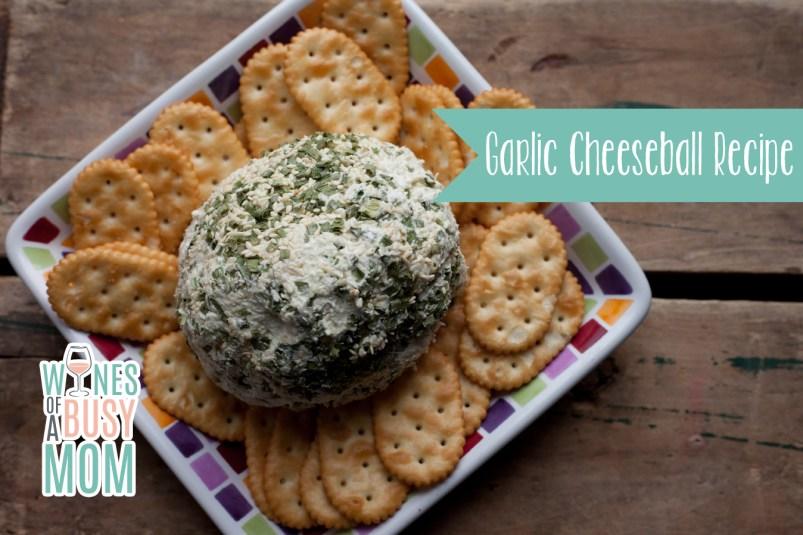Garlic Cheeseball Recipe