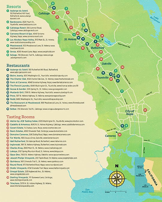 Napa Valley Travel The Complete Luxury Guide Features News