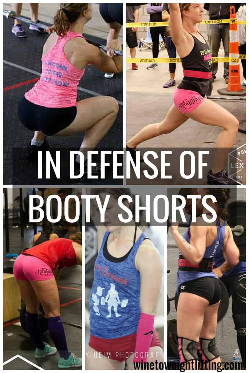 In defense of booty shorts