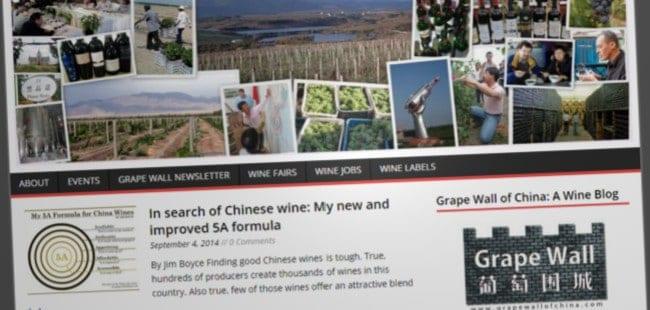 Grape Wall of China