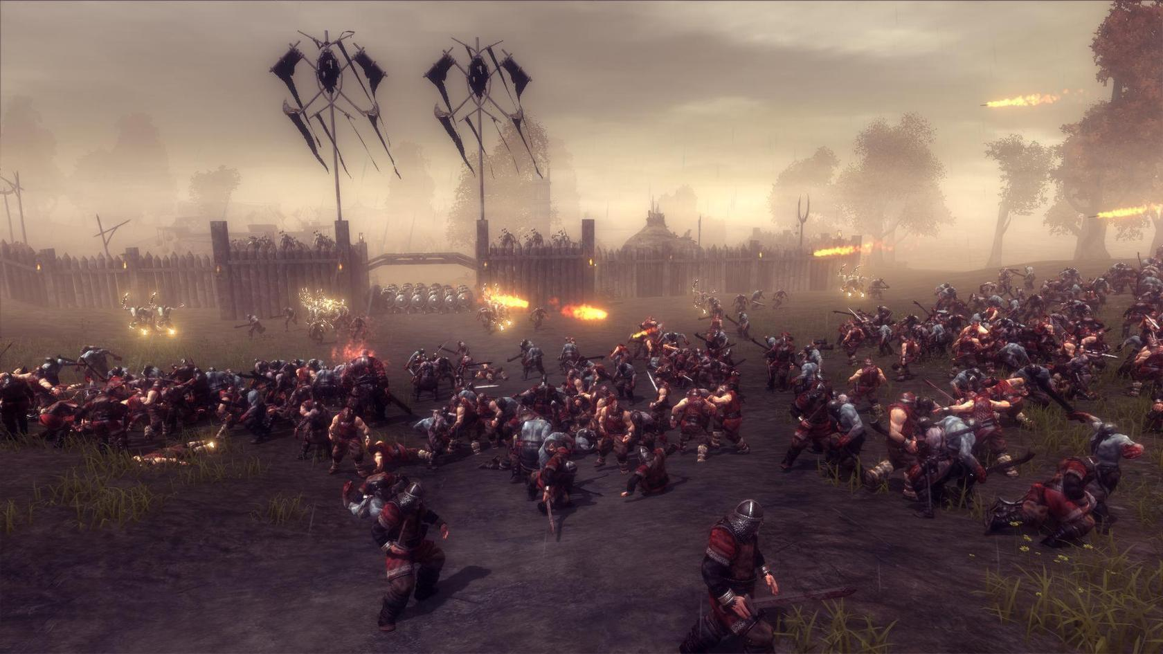 Skyrim Animated Wallpaper Viking Battle For Asgard Wingamestore Com