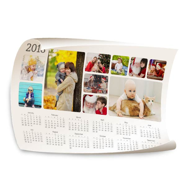 2018 Photo CalendarPersonalized Calendars Winkflash